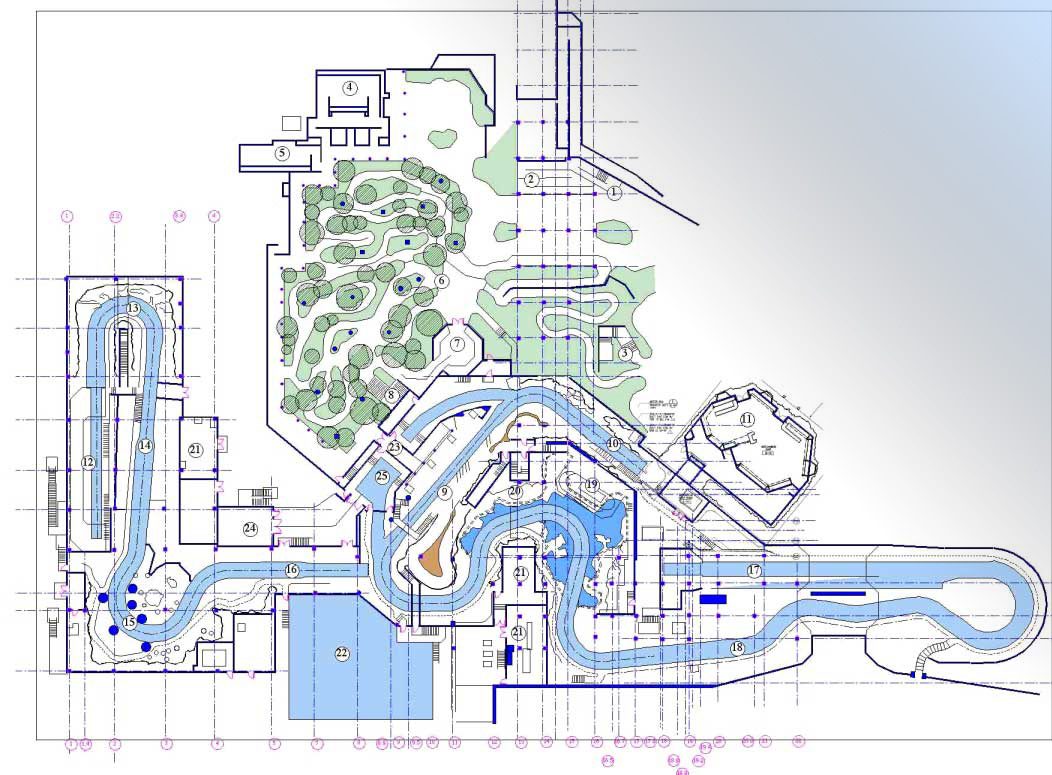 theme park design schematic plan