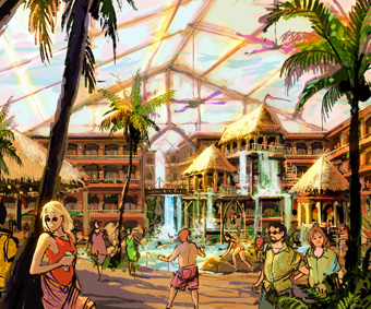Themed Resort Design